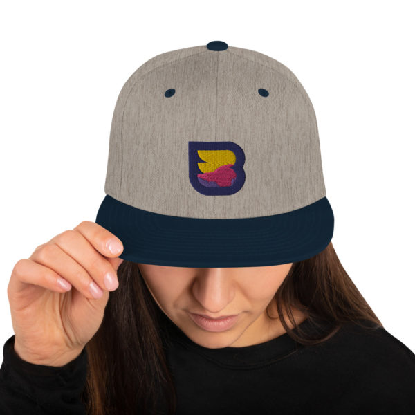WPBuffs gray cap women