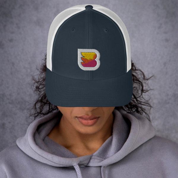 WPBuffs trucker cap white