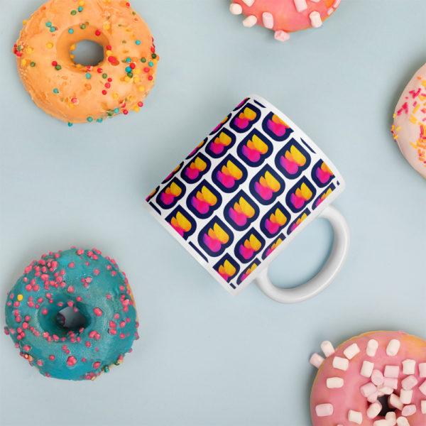 WPbuffs mug with donuts