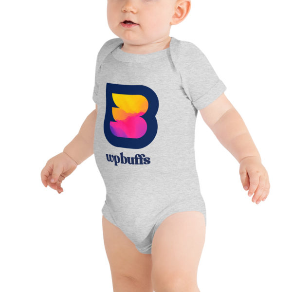 WPBuffs Baby onesie gray
