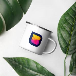 WPBuffs enamel mug